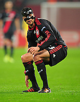 FUSSBALL   CHAMPIONS LEAGUE   SAISON 2011/2012   GRUPPENPHASE Bayer 04 Leverkusen - FC Chelsea    23.11.2011 Michael BALLACK (Leverkusen)