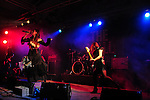 Kaohsiung, Taiwan -- The Japanese metal band SOUNDWITCH performing in the 'Kiss Me Kill Me 2011 Tour' at The Wall Live House (Pier 2).