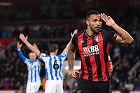 Callum Wilson of AFC Bournemouth scores and celebrates during AFC Bournemouth vs Huddersfield Town, Premier League Football at the Vitality Stadium on 4th December 2018