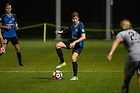 Kansas City, MO - Thursday August 10, 2017: Becca Moros during a regular season National Women's Soccer League (NWSL) match between FC Kansas City and the North Carolina Courage at Children's Mercy Victory Field.