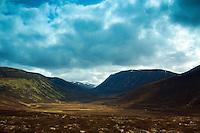 Strath Nethy and Cairn Gorm, Abernethy National Nature Reserve, Cairngorm National Park, Badenoch & Speyside