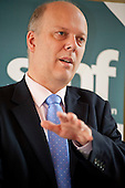 Employment Minister Chris Grayling MP, Social Market Foundation conference on welfare reform, sponsored by Serco and Welfare to Work.