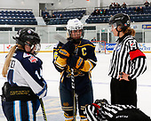 Bridgewater, NS - April 27, 2018 - Game 17 - Semifinal ONT v PAC during the 2018 ESSO Cup at the Lunenburg Community Lifestyle Centre in Bridgewater, Nova Scotia, Canada (Photo: Dennis Pajot/Hockey Canada)