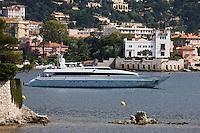 Europe/France/Provence-Alpes-Côte d'Azur/06/Alpes-Maritimes/ Beaulieu-sur-Mer: Yacht et Villa Grecque Kérylos