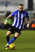 Steven Fletcher of Sheffield Wednesday in action during Millwall vs Sheffield Wednesday, Sky Bet EFL Championship Football at The Den on 12th February 2019
