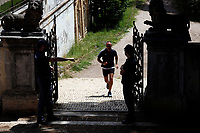 Security and Police patrolling around Villa Pamphilj, where the Italian Premier convened the States General of Economy. The summit was strictly behind closed doors and the press was kept outside. Rome (Italy), June 13th 2020<br /> Samantha Zucchi Insidefoto
