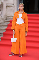 "Pheobe Collings-James<br /> arriving for the premiere of ""The Wife"" at Somerset House, London<br /> <br /> ©Ash Knotek  D3418  09/08/2018"