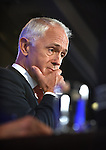 Australian Prime Minister Malcolm Turnbull speaks at the National Press Club, Canberra, on February 1, 2017. Photographer: Mark Graham/Bloomberg