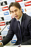 The coach of the national soccer team of Spain, Julen Lopetegui, presents the list of players for international matches against Israel and France. March 17,2017.(ALTERPHOTOS/Acero)