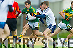 Peter Nash Kerry in action against Gavin Crowley IT Tralee in the McGrath cup at Austin Stack Park on Sunday.