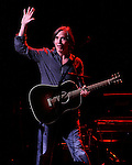 "May 27, 2011 New York: Singer / Musician Jackson Browne performs at ""Wavy Gravy's 75th Birthday"" at the Beacon Theatre on May 27, 2011 in New York."