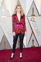 Emma Stone arrives on the red carpet of The 90th Oscars&reg; at the Dolby&reg; Theatre in Hollywood, CA on Sunday, March 4, 2018.<br /> *Editorial Use Only*<br /> CAP/PLF/AMPAS<br /> Supplied by Capital Pictures