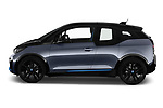 Car driver side profile view of a 2018 BMW i3 S 5 Door Hatchback