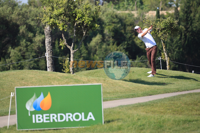 Chris Wood (ENG) on the 16th on day one of the Iberdrola Open from Pula Golf Club ,Son Servera, Mallorca, Spain. 12/5/2011..Picture Fran Caffrey/www.golffile.ie