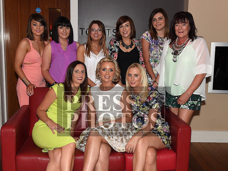 Jenny Smith celebrating her 30th birthday with all her friends in Brú. Photo:Colin Bell/pressphotos.ie