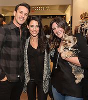 Jessica Lowndes and McNair Zimbalist attend the Reservoir Celebrates One-Year Anniversary with Cocktail Event and Opening of Second Floor Home Shop on Nov. 19, 2016 (Photo by Inae Bloom/Guest of a Guest)