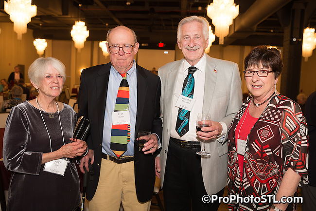St. Louis Psychoanalytic Institute Spring Fling 2015 fundraiser event at The Caramel Room at Bissinger's Chocolate Factory in St. Louis, Missouri on April 30, 2015.