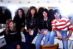 Rainbow 1978 with Ronnie James Dio, Ritchie Blackmore and Cozy Powell.© Chris Walter.