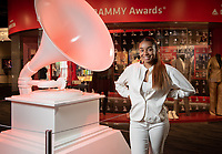 Sophia Brown '20 is a summer intern for The Grammy Museum in downtown Los Angeles as part of Occidental College's InternLA program.<br /> Career Services' InternLA is a paid summer internship program which helps Oxy students gain real-world work experience from actual businesses in Los Angeles and surrounding area.<br /> (Photo by Marc Campos, Occidental College Photographer)