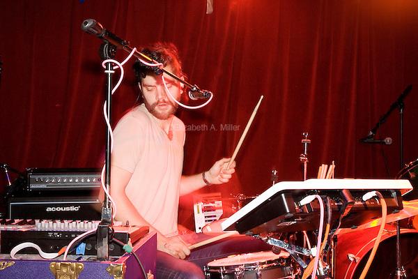Ichicuts play Velvet Lounge in Washington, DC on July 12, 2013.