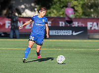 Seattle, WA - Saturday July 16, 2016: Nahomi Kawasumi during a regular season National Women's Soccer League (NWSL) match between the Seattle Reign FC and the Western New York Flash at Memorial Stadium.