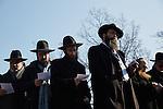1.3.2016, Berlin CHABAD LUBAVITCH Bildungszentrum. Rabbinerkonferenz. Ausflug zum Gleis 17 mit Gedenkfeier