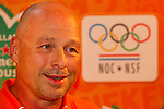 Engeland, London, 26 juli 2012.Olympische Spelen London.Opening Holland Heineken House.Maurits Hendriks van het  NOC*NSF