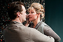 """© Jane Hobson. 03/02/2011. """"A Rude Awakening"""", written by Dr Barry Peters and directed by Olivia Rowe, opens at the New End Theatre, Hampstead. Jonathan Woodward (as Tom Holdsworth) and Lucy Newman-Williams (as Rustina Loveday). Picture credit should read: Jane Hobson"""