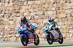 CEV Repsol en Motorland / Aragón <br /> a 07/06/2014 <br /> En la foto :<br /> Moto3<br /> maria herrera<br /> 27 kunimine<br />RM/PHOTOCALL3000