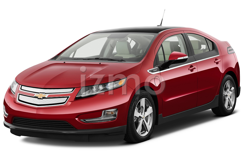 Front three quarter view of a 2011 Chevrolet Volt