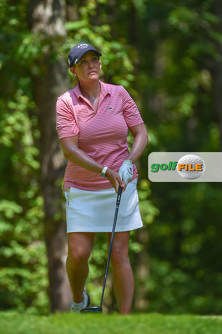 Cristie Kerr (USA) watches her tee shot on 2 during round 4 of the U.S. Women's Open Championship, Shoal Creek Country Club, at Birmingham, Alabama, USA. 6/3/2018.<br /> Picture: Golffile | Ken Murray<br /> <br /> All photo usage must carry mandatory copyright credit (© Golffile | Ken Murray)