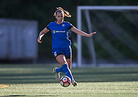 Seattle, WA - Saturday July 22, 2017: Lindsay Elston during a regular season National Women's Soccer League (NWSL) match between the Seattle Reign FC and Sky Blue FC at Memorial Stadium.