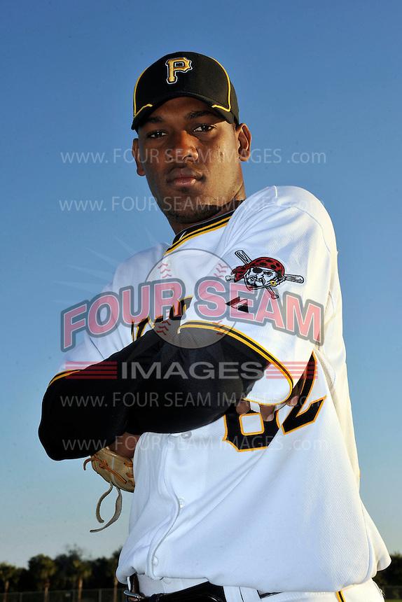 Feb 28, 2010; Bradenton, FL, USA; Pittsburgh Pirates  pitcher Ramon Aguero (62) during  photoday at Pirate City. Mandatory Credit: Tomasso De Rosa/ Four Seam Images
