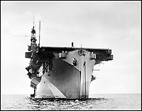BNPS.co.uk (01202 558833)Pic: CharterhouseAuctioneers/BNPS<br /> <br /> Aircraft carrier HMS Fencer.<br /> <br /> A remarkable wartime photo album that highlights the perilous nature of landing a fighter plane on an aircraft carrier in heavy seas has been unearthed.<br /> <br /> The black and white snaps show several Royal Naval aircraft coming a cropper while attempting to land on board HMS Fencer often in heavy seas.<br /> <br /> One set of images depict a Swordfish biplane crashing into the sea a few hundred yards off the aircraft carrier HMS Fencer.<br /> <br /> Other photos show a Supermarine Seafire about the crash into the superstructure.<br /> <br /> The album will be sold by Charterhouse Auctioneers in Sherborne, Dorset.