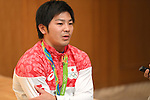 Koji Yamamuro (JPN), <br /> AUGUST 20, 2016 - Artistic Gymnastics : <br /> Japanese gymnasts attend a media conference in Chiba, Japan. <br /> Japan won the gold medal <br /> at the Artistic Gymnastics men's team competition <br /> in the Rio 2016 Olympic Games. <br /> (Photo by AFLO SPORT)
