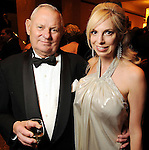 Honoree Laura Spalding and her father Dr. James Hedberg at the Winter Ball benefiting the Houston Gulf Coast/South Texas Chapter of the Crohn's & Colitis Foudation of America at the InterContinental Hotel Saturday Jan. 23,2010.(Dave Rossman/For the Chronicle)