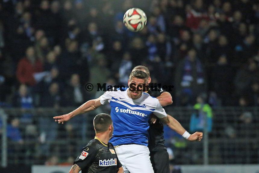 Kopfball Ronny Koenig (SV 98) - SV Darmstadt 98 vs. 1. FC Union Berlin, Stadion am Boellenfalltor