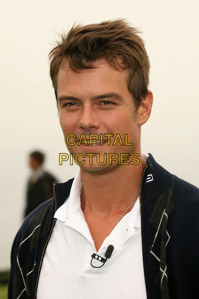 JOSH DUHAMEL.9th Annual Michael Douglas & Friends Celebrity Golf Event at the Trump National Golf Club, Rancho Palos Verdes, California, USA..April 29th, 2007.sport headshot portrait .CAP/ADM/BP.©Byron Purvis/AdMedia/Capital Pictures