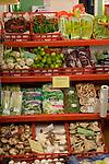 Variety of salad vegetables, Santa Cruz market,Tenerife, Canary Islands.