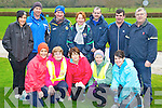 Keel walkers keeping healthy at the Let's Get Kerry Walking/Operation Transformation walk in Muckross on Saturday was front row l-r: Katherine O'Connor, Mary O'Shea, Christina Hayes, Cora O'Connor. Back row: Kathleen Ladden, Gerard Ladden, Gerard O'Dowd, Pauline Casey, Mick Casey, Pat O'Shea and Donal Griffin....