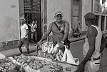Havana, Cuba: Street vendors