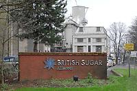 Allscott Sugar Factory. Sugar beet.