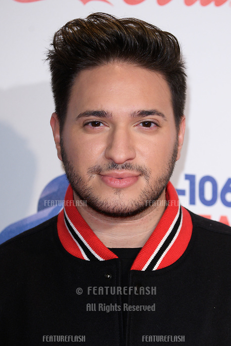 LONDON, UK. December 08, 2018: Jonas Blue at Capital&rsquo;s Jingle Bell Ball 2018 with Coca-Cola, O2 Arena, London.<br /> Picture: Steve Vas/Featureflash