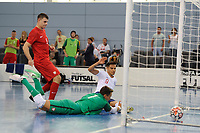 Raoni Medina of England scores the opening goal of the game during England vs Poland, International Futsal Friendly at St George's Park on 2nd June 2018