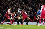 20.02.2020 Rangers v SC Braga: Ianis Hagi scores for Rangers