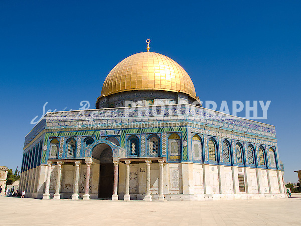 The Dome of the Rock<br /> <br /> The Dome of the Rock is the third most sacred place for the Islamic world after Mecca and Medina.