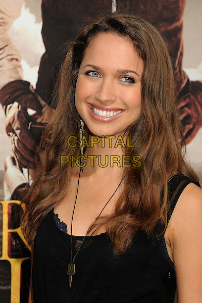 "Maiara Walsh.""For Greater Glory"" Los Angeles Premiere held at the AMPAS Samuel Goldwyn Theater, Beverly Hills, California, USA..May 31st, 2012.headshot portrait black .CAP/ADM/BP.©Byron Purvis/AdMedia/Capital Pictures."