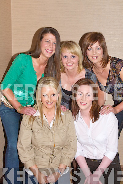 MEETING: Meeting up at Fels Point Hotel, tralee on Saturday night to talk about the forth coming Kerry Rose Selection were Bertina Moynihan,Catriona Delahonty, Aishlinn O'Halloran,Jessica Scully and katie Nolan.....   Copyright Kerry's Eye 2008