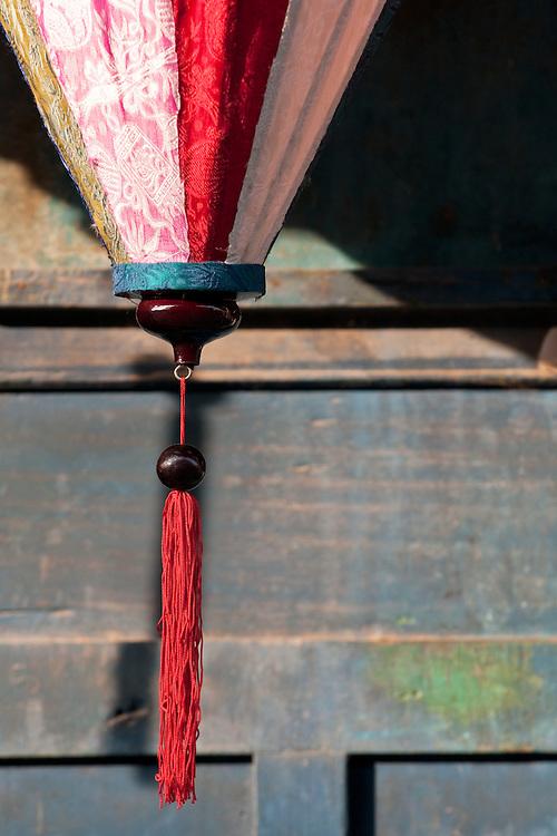 Silk lantern, Hoi An, Vietnam