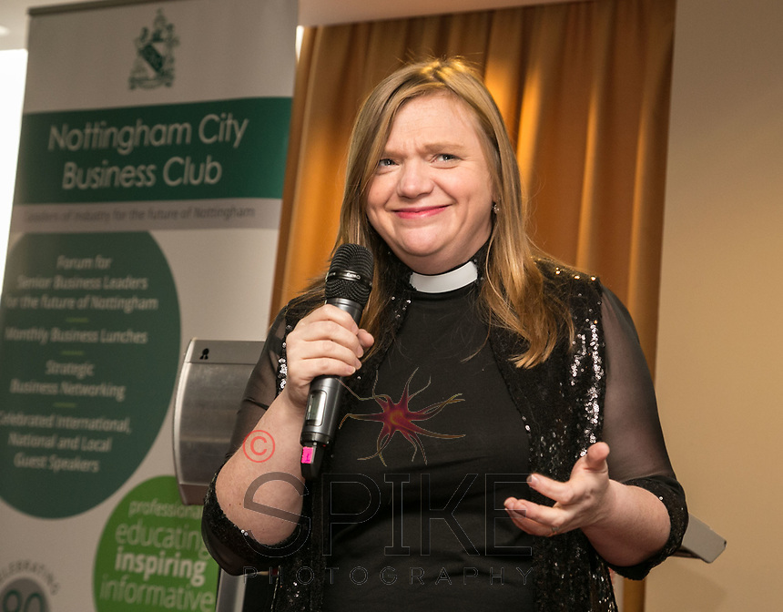 Keynote speaker the Reverend Kate Bottley